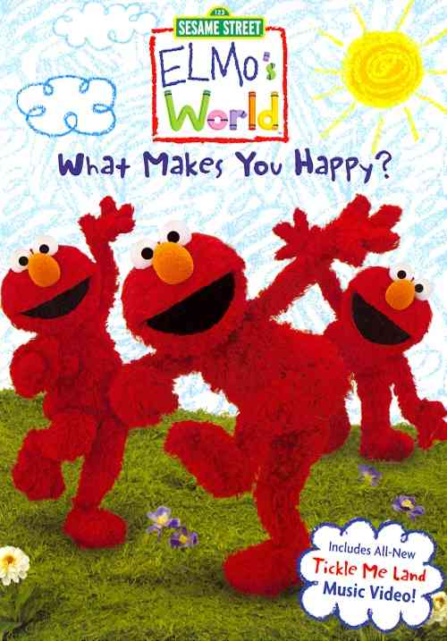 ELMO'S WORLD:WHAT MAKES YOU HAPPY BY ELMO'S WORLD (DVD)